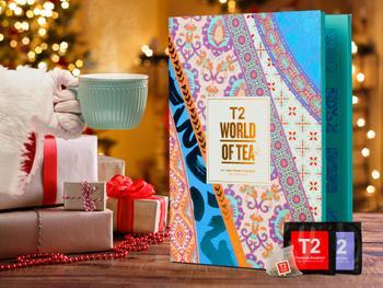 T2 World of Tea: Tekalender med Tepåsar