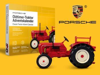 Porsche Traktor Adventskalender