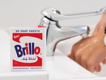 Andy Warhol Brillo Tvålark